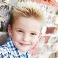 Skylar Ballay, 6, has signed with the Crawford Agency. He is the son of Chris and Meredith Ballay an...