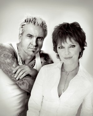 Pat Benatar, right, has been married to Neil Giraldo, her guitarist, for more than 30 years. The duo's show, which was originally scheduled for the Arkansas Music Pavilion, will now take place inside the Walton Arts Center on Sunday.