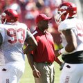 Taver Johnson, the Razorbacks' assistant head coach and linebackers coach in 2012, might have a shot...