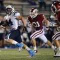 Tucker Lee, a Springdale Harb-Ber running back, breaks away on a 46-yard touchdown during the Wildca...