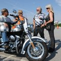 The Arkansas Harley Owners Group motorcycle rally is rolling out of the John Q. Hammons Center in Ro...