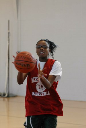 Jacksonville senior Jessica Jackson, one of the top-ranked recruits in the nation, has committed to play basketball for Arkansas next season.