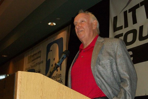 Former football coach John Robinson was 3-2 in his career at Southern California and UNLV against the Arkansas Razorbacks.