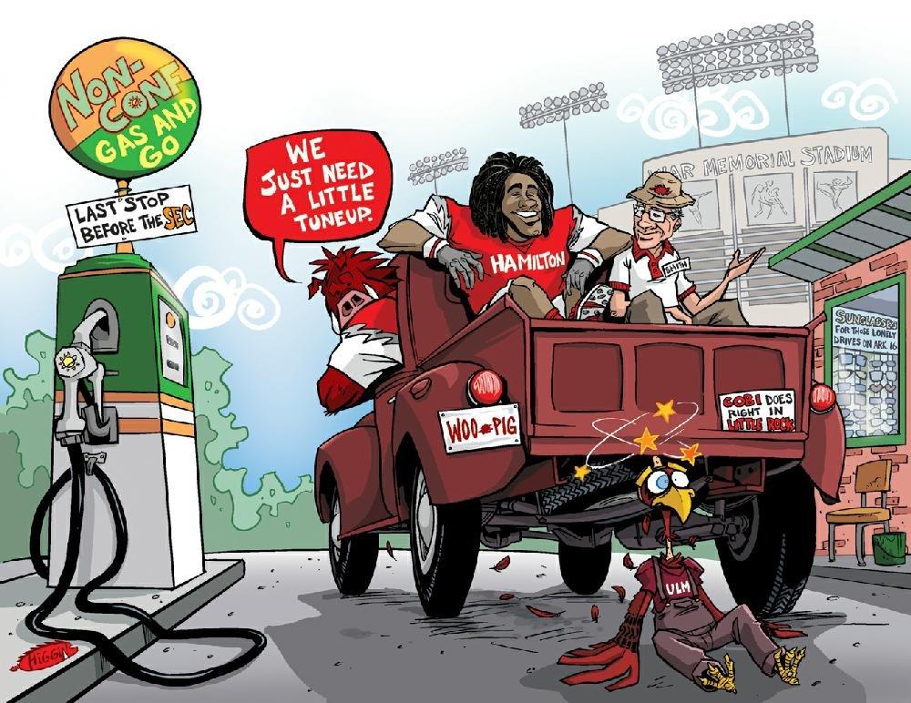 2012 gameday cartoons