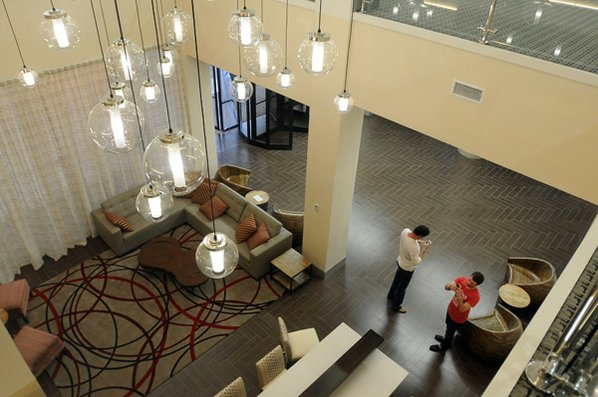The New Lobby Friday At Chancellor Hotel In Fayetteville
