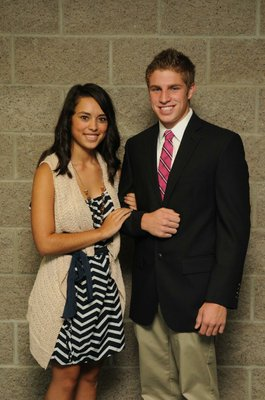 Sophomore maid Ashley Lopez; Escort Chandler Kern