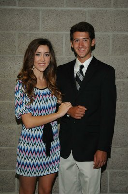 Senior maid Savannah Smith; Escort Nathan Street
