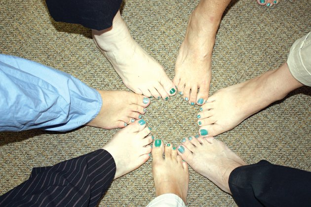 some-of-the-employees-at-harris-hospital-in-newport-show-off-their-teal-toes-the-women-painted-their-toenails-teal-to-help-raise-awareness-of-ovarian-cancer