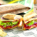 The Wicked is one of the most popular sandwiches at Which Wich, now open in Bentonville.