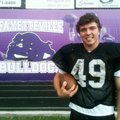 Brandyn Young, a senior captain on the Fayetteville football team, started the first four games at d...