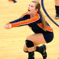 Kendra Linn, a Rogers Heritage senior, is a two-year starter at libero for the Lady War Eagles.