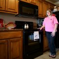 Daphne England in her personal space, the kitchen of her Centerton home.