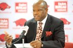 Arkansas Coach Mike Anderson, beginning his second season with the men's basketball team, will have more players to plug into his up-tempo, pressing style of play.