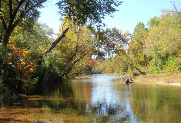 October is a prime month to float the Kings River.