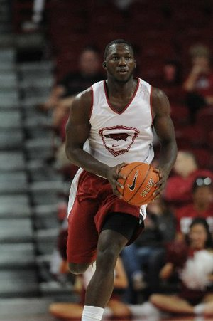 NWA Media/Spencer Tirey -- Alandise Harris won't be eligible for the Razorbacks this season after transferring from Houston.