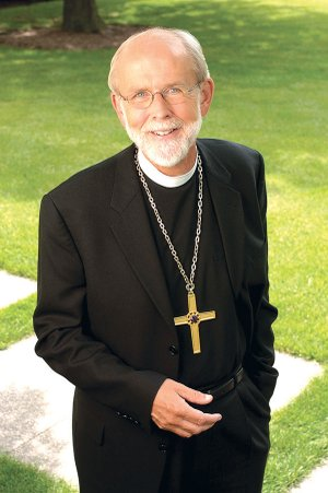 Mark S. Hanson, presiding bishop of the Evangelical Lutheran Church in America, will speak Nov. 4 at Good Shepherd Lutheran Church in Fayetteville. His appearance marks the bishop's first trip to Arkansas.