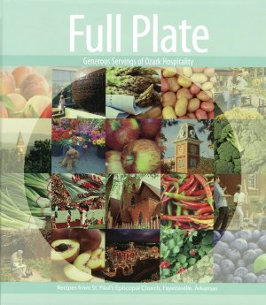 "St. Paul's Episcopal Church debuts its firstever cookbook, ""Full Plate: Generous Servings of Ozark Hospitality,"" at a tasting Thursday evening."