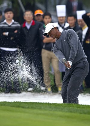 nstead of playing at the HSBC Champions event in Shenzhen, China, Tiger Woods is making a trip to Singapore for corporate commitments.