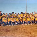 Eddie Greenhaw, No. 11, bottom right, was the quarterback of the 1977 Decatur High School football t...