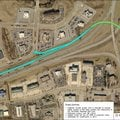 Here's an image that might help with your understanding of the flyover project. North College on ram...