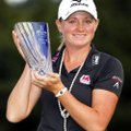 Stacy Lewis closed with a final-round 64 to win the Mizuno Classic at Kintetsu Kashikojima Country C...