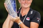 Stacy Lewis closed with a final-round 64 to win the Mizuno Classic at Kintetsu Kashikojima Country Club in Shima, Japan.