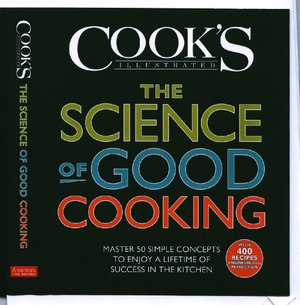 Bookcover of The Science of Good Cooking