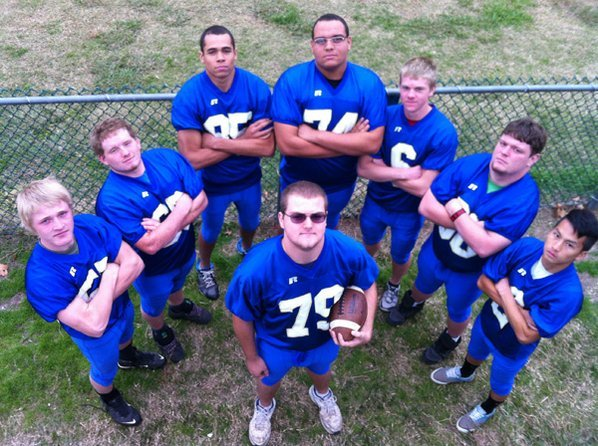 Elijah McIver, center, a Decatur ...