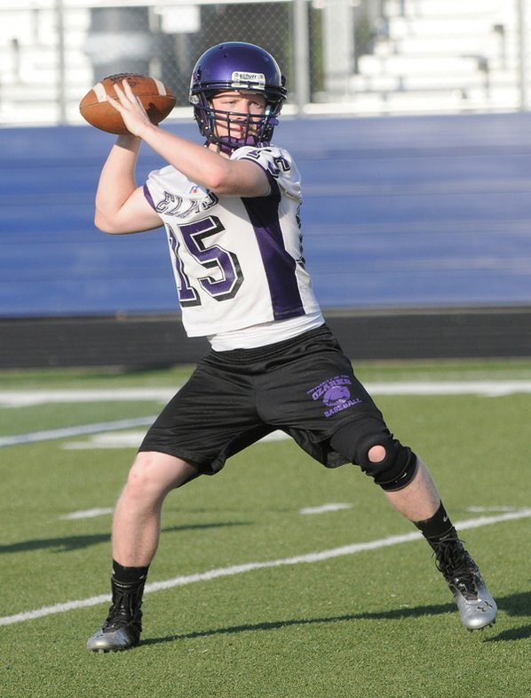 Mitchell Clark, Elkins' quarterback and ...