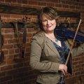 "Eileen Ivers, an Irish fiddle player, is known for her work in ""Riverdance"" and also the group Cheri..."
