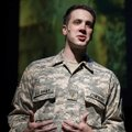 "Zach Kenney portrays 1st Lt. Leonard Cowherd III in the Griffin Theatre production of ""Letters Home,..."