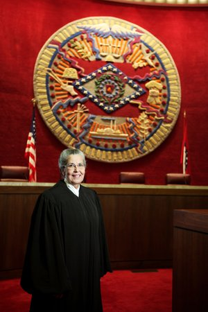 Judge Josephine Hart, who lives in Mountain View, was elected to the Arkansas Supreme Court in May and currently serves on the Arkansas Court of Appeals.