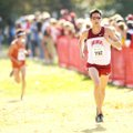 Arkansas senior Eric Fernandez finished eighth in the NCAA South Central Regional on Friday in 30 mi...