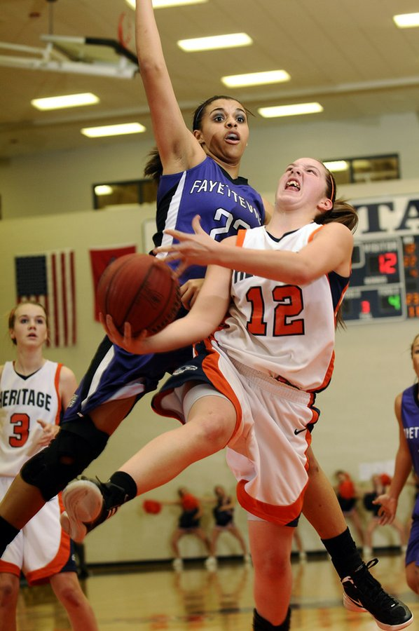 Brittany Ward, Rogers Heritage, takes ...