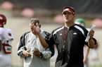 Kirk Botkin was on Bobby Petrino's first staff at Arkansas. Now he's an assistant coach for South Carolina.