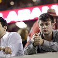 Alabama fans react after a loss to Texas A&M during the second half of an NCAA college football game...
