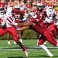 Cobi Hamilton (11) was named as one of 10 semifinalists for the Biletnikoff Award, given to college ...
