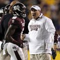 Mississippi State Coach Dan Mullen (right), whose team is 7-3, says it's important to focus on the b...