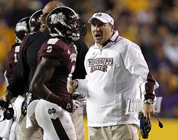 Mississippi State Coach Dan Mullen ...