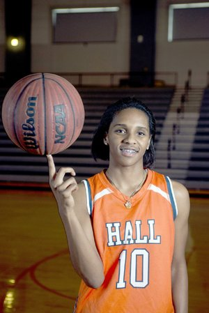 Little Rock Hall's Tyler Scaife has been ranked as the ninth best player in the country by ESPN and plans to announce her college choice Friday from among four schools.