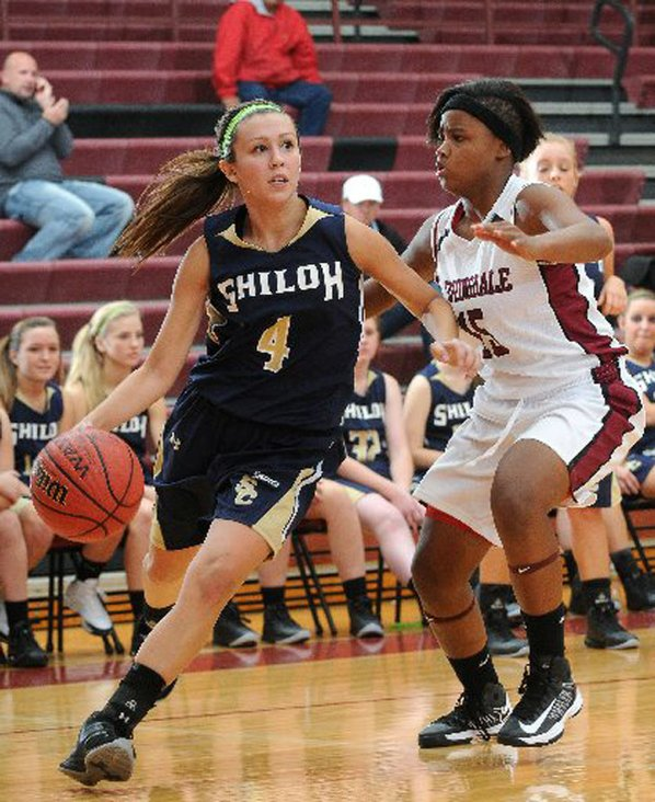 Alexis Jones, left, of Shiloh ...