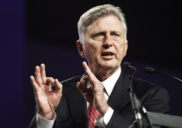 gov-mike-beebe-speaking-wednesday-at-the-arkansas-state-chamber-of-commerces-annual-meeting-in-little-rock-said-medicaid-expansion-is-the-best-way-to-avoid-cuts-to-nursing-care-for-10000-to-15000-senior-citizens-and-disabled-people-article-3a