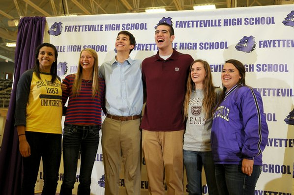 Several Fayetteville High athletes signed ...