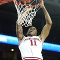 "Arkansas guard BJ Young has been called ""the glue"" that holds the Razorbacks together."