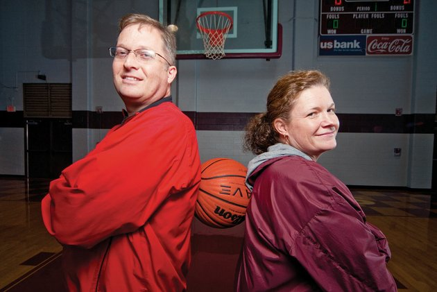 siblings-craig-pinion-left-and-carin-pinion-mcnabb-will-be-coaching-against-each-other-for-the-first-time-when-craigs-atkins-and-carins-morritlon-girls-basketball-teams-face-off-tuesday-night-just-before-the-pair-will-be-at-their-parents-home-in-atkins-for-the-thanksgiving-holiday