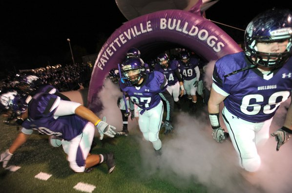 Fayetteville High School players take ...
