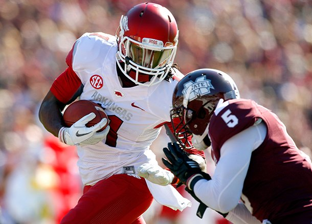 nwa-mediajason-ivester-arkansas-senior-wide-receiver-cobi-hamilton-is-hit-by-mississippi-state-junior-nicoe-whitley-after-making-a-touchdown-catch-during-the-first-quarter-on-saturday-nov-17-2012-at-davis-wade-stadium-in-starkville-miss