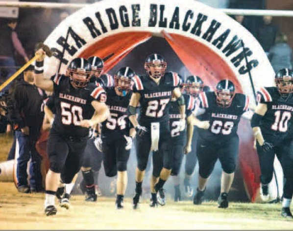 The Pea Ridge Blackhawks take ...