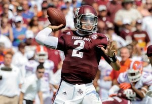 Johnny Manziel of Texas A&M
