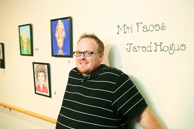 jared-hogues-first-gallery-showing-of-his-caricatures-is-on-display-at-the-historic-arkansas-museum-in-little-rock-hogue-a-self-taught-artist-from-cabot-focuses-on-famous-arkansans-political-figures-and-pop-culture-icons-in-the-exhibit